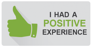 i had a positive experience